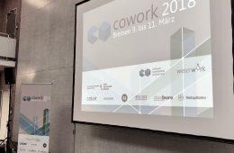 COWORK2018 - die Jahreskonferenz der deutschsprachigen Coworking-Spaces