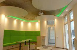 Lounge und Seminarraum