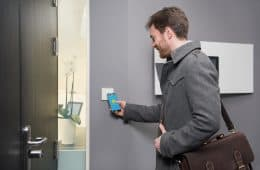 tapkey smart lock für Coworking-Spaces