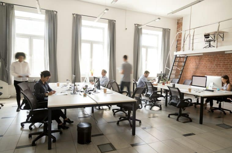 Nutzer in Coworking Spaces