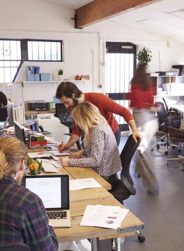 Gutes Miteinander im Coworking Space